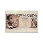 The Obama Food Stamp Rectangle Magnet