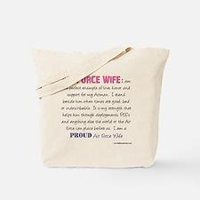 I Am...Air Force Wife Tote Bag