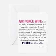 I Am...Air Force Wife Greeting Card
