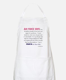 I Am...Air Force Wife BBQ Apron