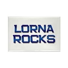 lorna rocks Rectangle Magnet