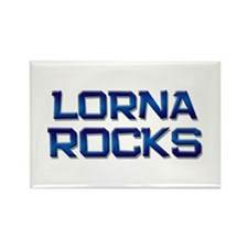 lorna rocks Rectangle Magnet (10 pack)