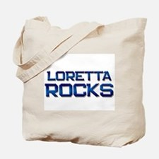 loretta rocks Tote Bag