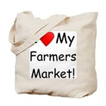 Heart Farmers Market Tote Bag