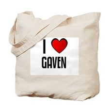 I LOVE GAVEN Tote Bag