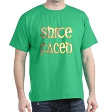 Shite Faced Green T-Shirt