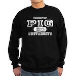 Pig University Sweatshirt (dark)