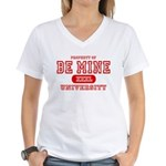 Be Mine University Women's V-Neck T-Shirt