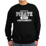 Pirate University T-Shirts Sweatshirt (dark)
