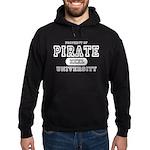 Pirate University T-Shirts Hoodie (dark)