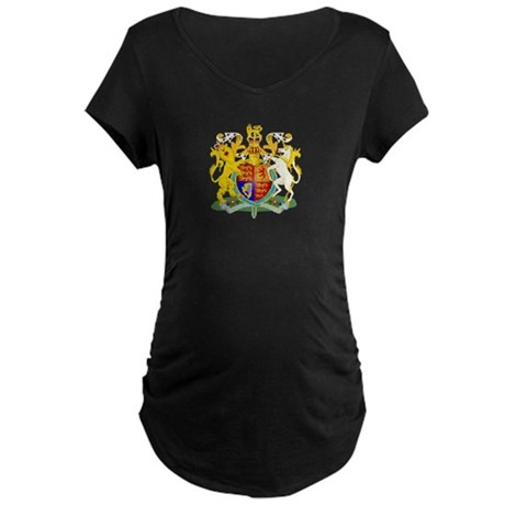House of Windsor Maternity Dark T-Shirt