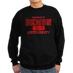 Demon University Halloween Sweatshirt (dark)