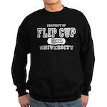 Flip Cup University Sweatshirt (dark)