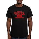 Vodka University Men's Fitted T-Shirt (dark)