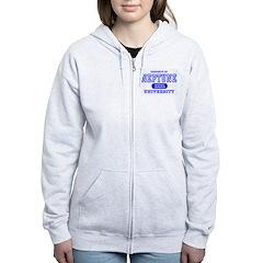 Neptune University Property Zip Hoodie