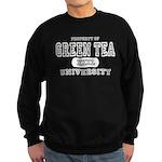 Green Tea University Sweatshirt (dark)