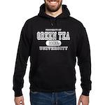 Green Tea University Hoodie (dark)