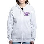 Volleyball University Women's Zip Hoodie
