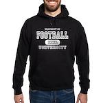 Football University Hoodie (dark)