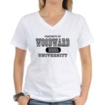 Woodward University Property Women's V-Neck T-Shir