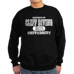 Cliff Diving University Sweatshirt (dark)
