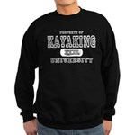 Kayaking University Sweatshirt (dark)