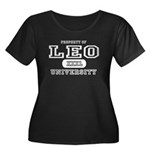 Leo University Property Women's Plus Size Scoop Ne