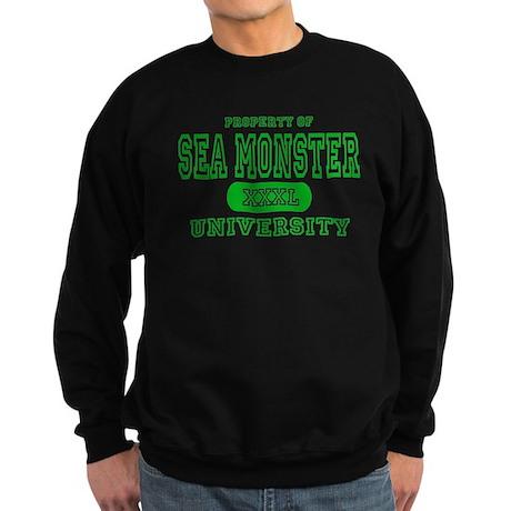 Sea Monster University Sweatshirt (dark)