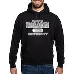 Programming University Hoodie (dark)