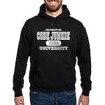 Code Junkie University Hoodie (dark)