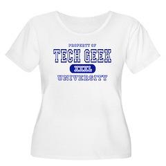 Tech Geek University T-Shirt