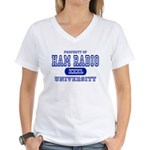 Ham Radio University Women's V-Neck T-Shirt
