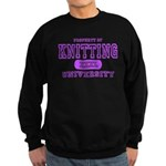 Knitting University Sweatshirt (dark)