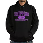 Knitting University Hoodie (dark)