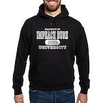 Impeach Bush University Hoodie (dark)