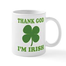 Thank God Im Irish Mug