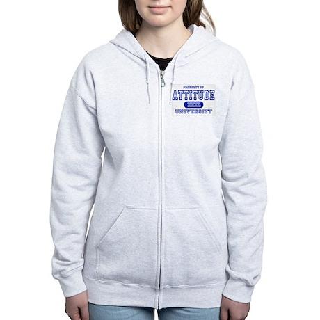 Attitude University Women's Zip Hoodie