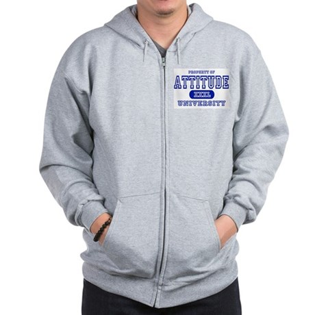 Attitude University Zip Hoodie