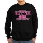 Hottie University Sweatshirt (dark)
