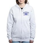 Macho University Women's Zip Hoodie