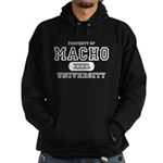 Macho University Hoodie (dark)