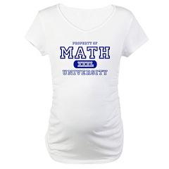 Math University Shirt