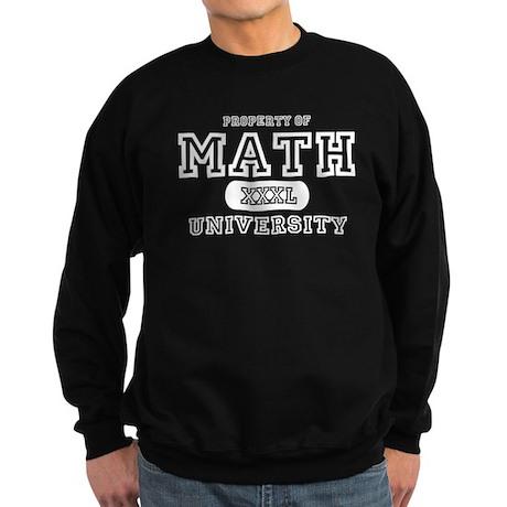 Math University Sweatshirt (dark)