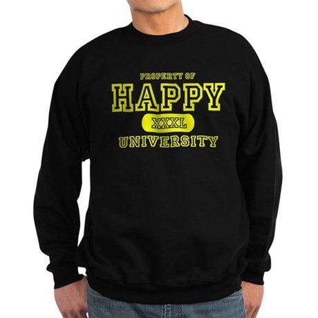 Happy University Sweatshirt (dark)