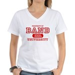 Band University Women's V-Neck T-Shirt