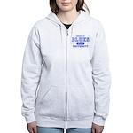 Blues University Women's Zip Hoodie