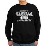Vanilla University Sweatshirt (dark)