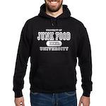 Junk Food University Hoodie (dark)