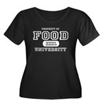 Food University Property Women's Plus Size Scoop N
