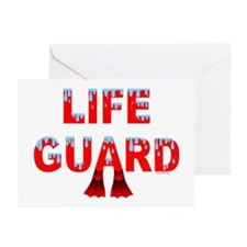 Life Guard Greeting Cards (Pk of 20)